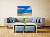 Peaceful Beach Vinyl Print