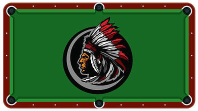 Indian Chief Billiards Cloth