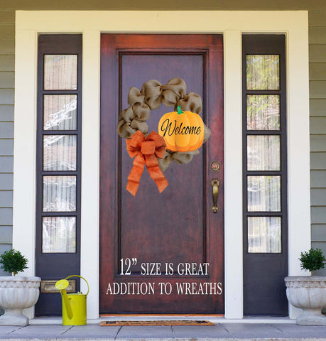 Pumpkin Door Hanger