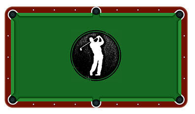 Golf Billiards Cloth
