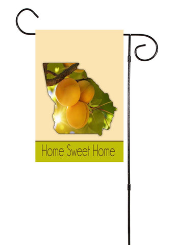 Georgia - Peach Tree - Garden Flag