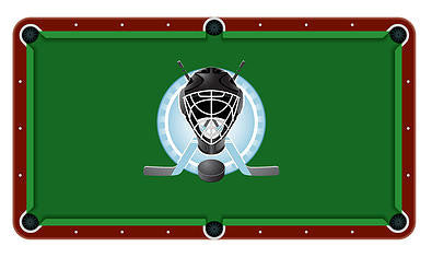 Hockey Billiards Cloth