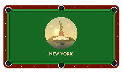 New York Billiards Cloth