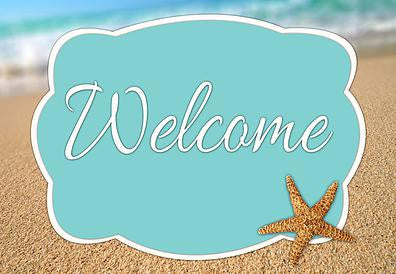 Beach Welcome Mat