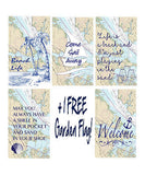 Nautical Quotes & Sayings Garden Flag Bundle