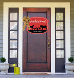 Welcome To The Farm Door Hanger