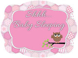Shhhh... Baby Sleeping Door Hanger