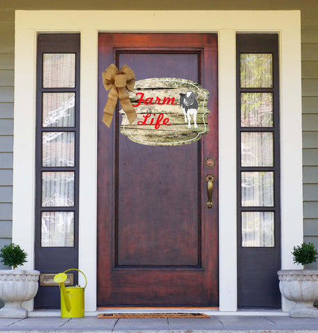 Farm Life Door Hanger
