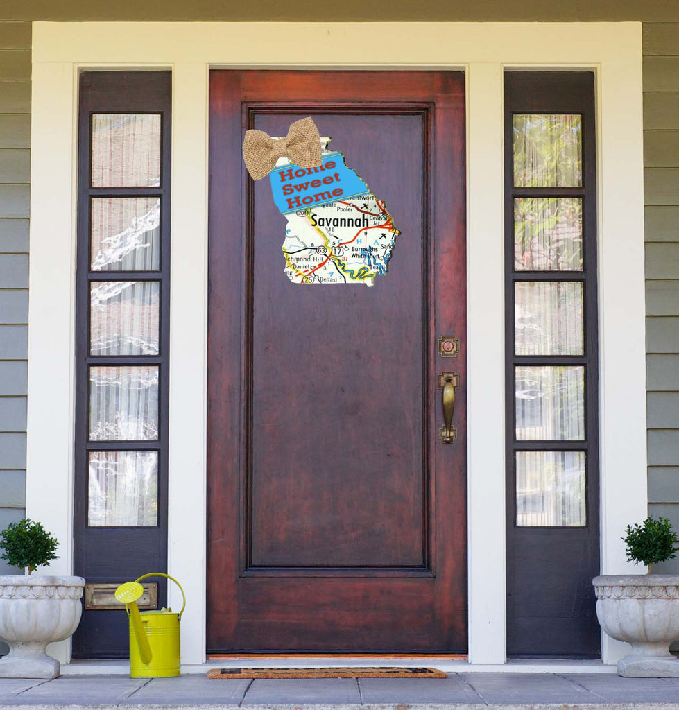 Savannah Georgia Door Hanger