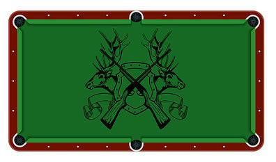 Hunting Billiards Cloth