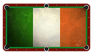 Irish Flag Billiards Cloth