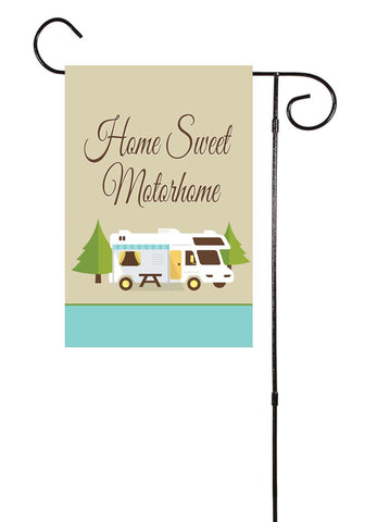 Home Sweet Motorhome Garden Flag