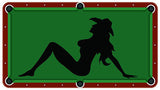 Sexy Cowgirl Billiards Cloth