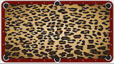 Leopard Billiards Cloth