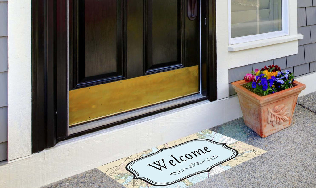 Quotes - Nautical Welcome Mat