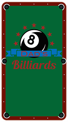 Dad's Billiards Cloth