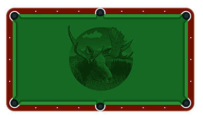 Elk Billiards Cloth