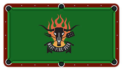 BBQ Billiards Cloth