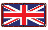British Flag Billiards Cloth
