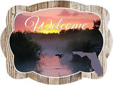 Florida Everglades Door Hanger