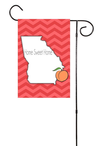 Georgia - Home Sweet Home - Garden Flag