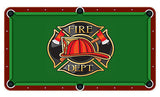 Fire Deparment Billiards Cloth