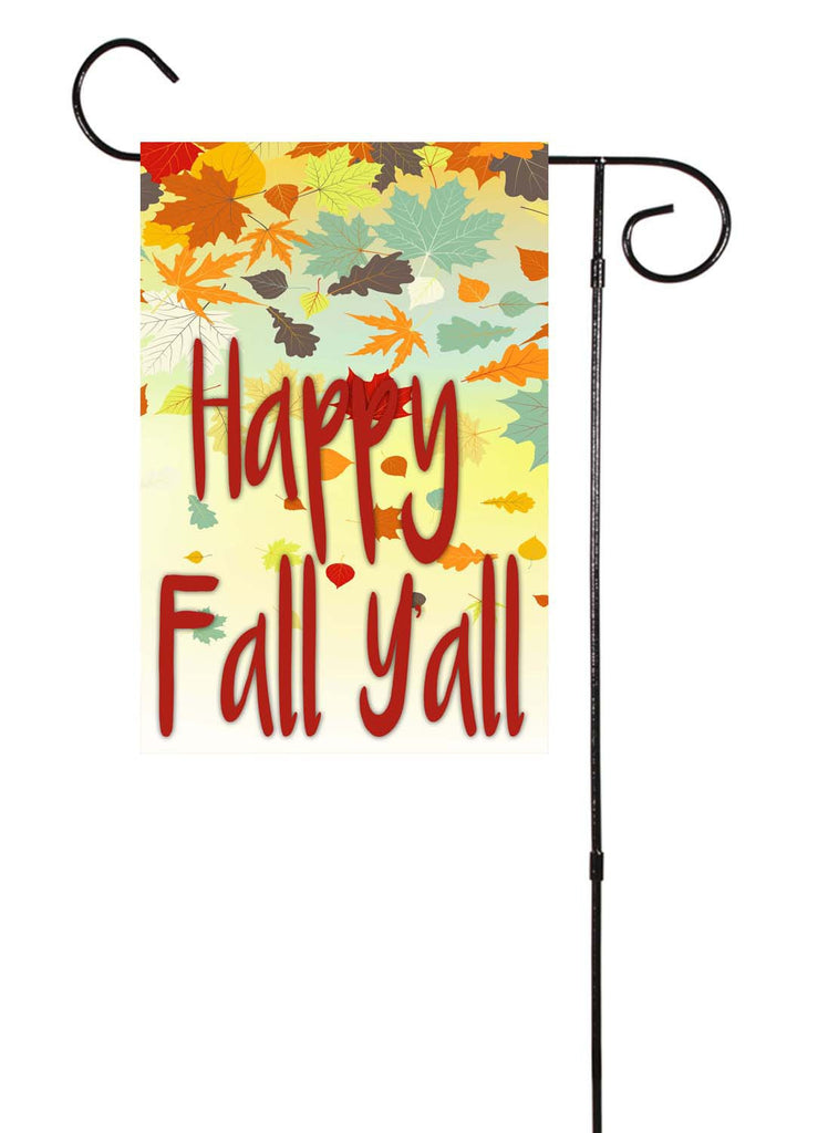 Happy Fall Y'all Garden Flag