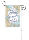 Home Sweet Home With State Garden Flag