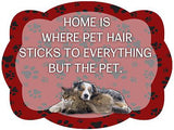 Home Is Where Pet Hair Sticks To Everything But The Pet Door Hanger