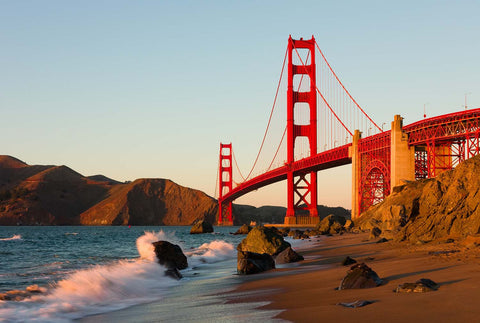 Golden Gate Bridge San Fransisco California Vinyl Print