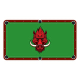 Razorback Wild Hog High School College Team Mascot Billiards Cloth