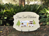 Home Sweet Motorhome Door Hanger