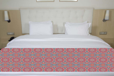 Colorful Mandala Bed Runner