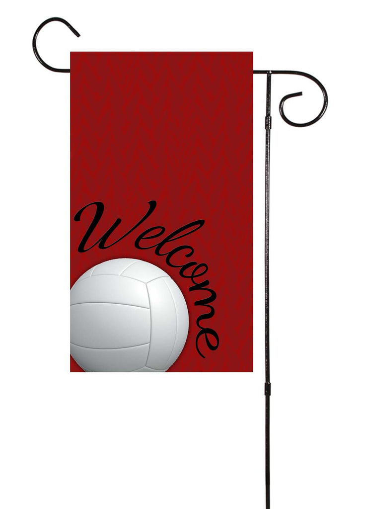 Volleyball Garden Flag