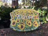 Sunflower Door Hanger