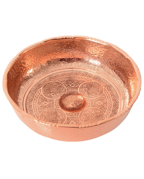 Spa or hammam bowl, made in Turkey - Shopping Blue
