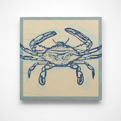 John W. Golden's Atlantic Blue Crab Artwork