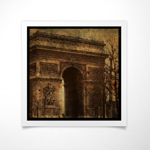 Arc de Triomphe Photograph by John W. Golden © 2008