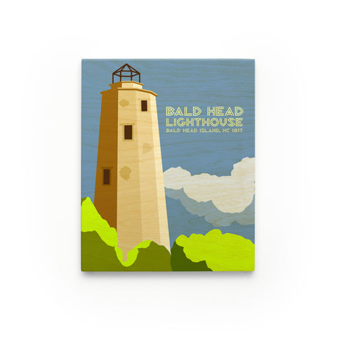 Bodie Island Lighthouse Art Block