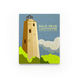Bald Head Island Lighthouse Art Block