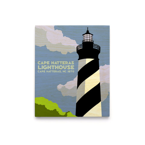 Cape Hatteras Lighthouse Art Block