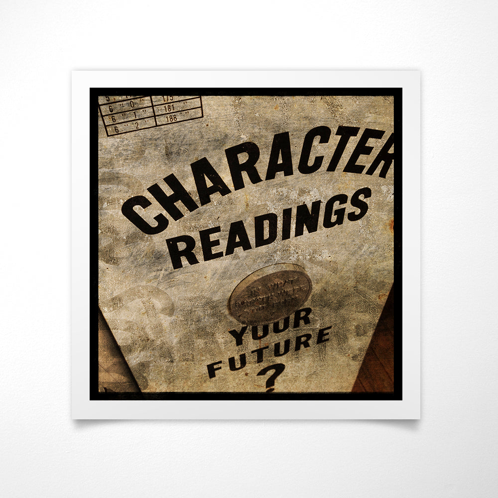 Character Readings No. 1 - Game Room Wall Art