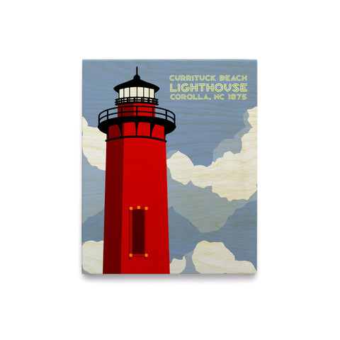 Currituck Lighthouse Art Block
