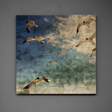 "Gulls No. 1- 24"" x 24"" Art Box"