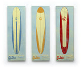 Surf Art Longboard Wall Art Box