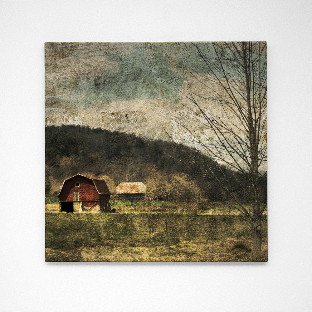 "Valle Crucis Barn No. 1- 24"" x 24"" Art Box"