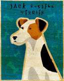 "Jack Russell Terrier Print 8""x10"""