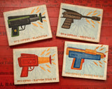 "Raygun Art Blocks- 4 Print Set 4"" x 5"""
