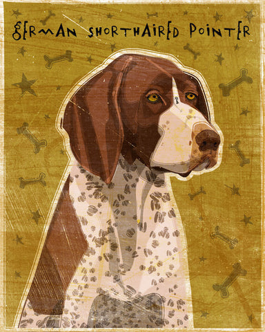 "German Shorthaired Pointer Print 8"" x 10"""