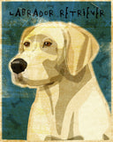 "Yellow Labrador Print- No. 2- 8"" x 10"""